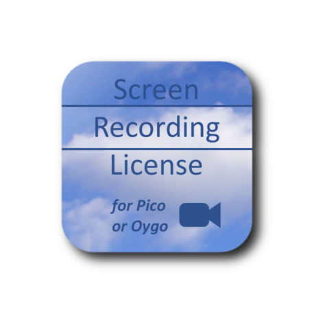 ScreenRecordingLicenseForPicoOrOygoShadowWhite